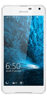 Téléphone Microsoft LUMIA 650 Blanc Comme neuf