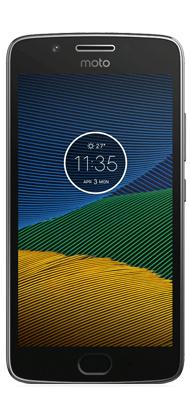 Téléphone Motorola G5 Gris Acier