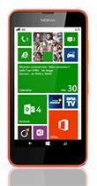 Téléphone Nokia Lumia 635 orange Comme neuf