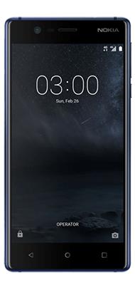 Téléphone Nokia 3 Bleu