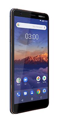 Téléphone Nokia 3.1 Bleu