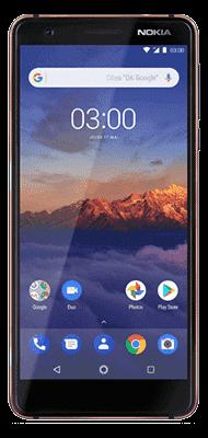 Téléphone Nokia 3.1 Noir