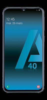 Téléphone Samsung Galaxy A40 Noir DS