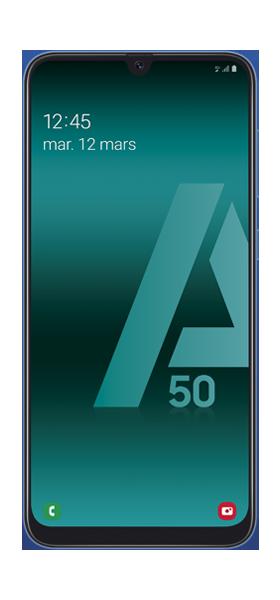 Téléphone Samsung Galaxy A50 Bleu DS