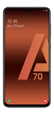 Téléphone Samsung Galaxy A70 Noir DS