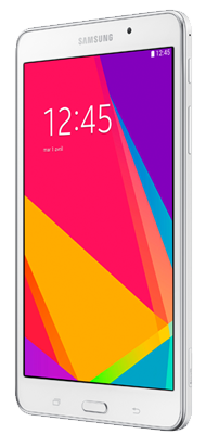 T�l�phone Samsung Galaxy Tab 4 7p 4G Blanc