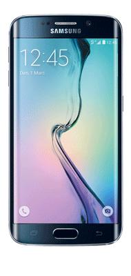 T�l�phone Samsung Galaxy S6 Edge noir 32Go