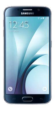Téléphone Samsung Galaxy S6 noir 32Go