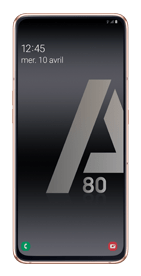Téléphone Samsung Galaxy A80 Or DS