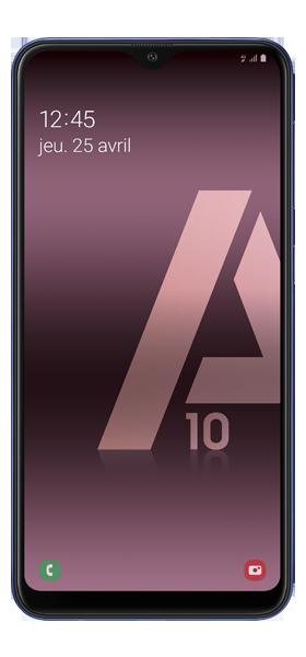 Téléphone Samsung Galaxy A10 Bleu DS