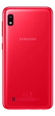 Téléphone Samsung Samsung Galaxy A10 rouge DS