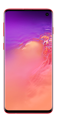 Téléphone Samsung Galaxy S10 Rouge