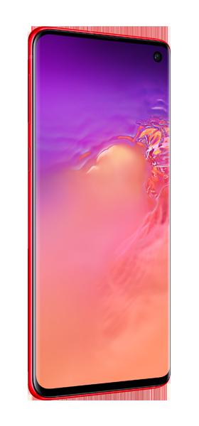 Téléphone Samsung Samsung Galaxy S10 Rouge DS