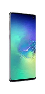 Téléphone Samsung Galaxy S10 Vert DS Comme neuf