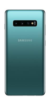 Téléphone Samsung Samsung Galaxy S10 Plus Vert DS Très bon état