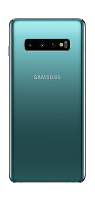 Téléphone Samsung Galaxy S10 Plus Vert DS Comme neuf