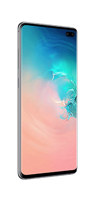 Téléphone Samsung Galaxy S10 Plus Blanc DS Très bon état