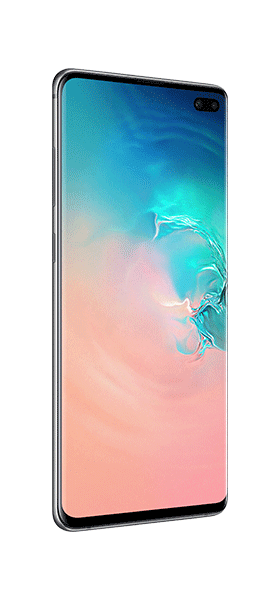 Téléphone Samsung Samsung Galaxy S10 Plus Blanc DS Très bon état