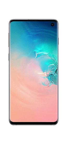 Téléphone Samsung Samsung Galaxy S10 Blanc DS Très bon état