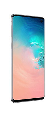 Téléphone Samsung Galaxy S10 Blanc DS Comme neuf