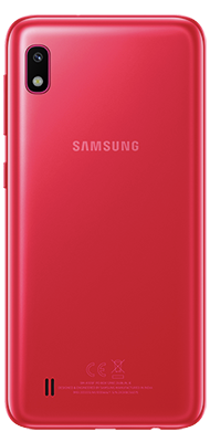 Téléphone Samsung Galaxy A10 rouge DS