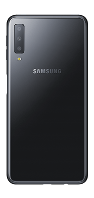 Téléphone Samsung Samsung Galaxy A7 2018 Noir Comme Neuf