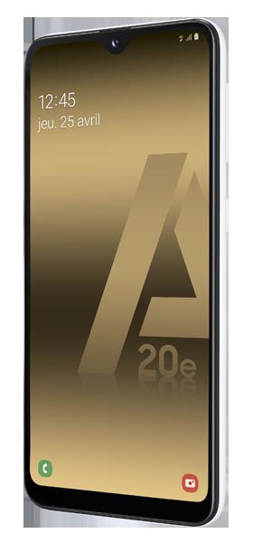 Téléphone Samsung Samsung Galaxy A20e Blanc Comme Neuf