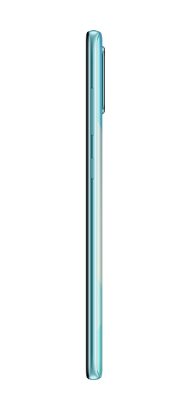 Téléphone Samsung Galaxy A71 Bleu Prismatique