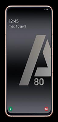 Téléphone Samsung Samsung Galaxy A80 Or Comme Neuf