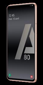 Téléphone Samsung Galaxy A80 Or Comme Neuf