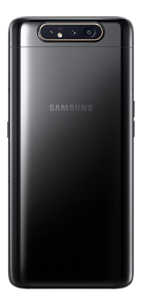 Téléphone Samsung Galaxy A80 Noir Comme Neuf