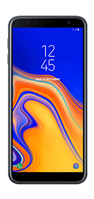 Téléphone Samsung Samsung Galaxy J6+ Noir état correct