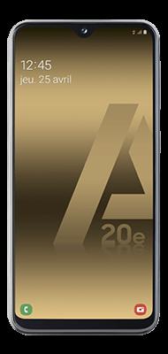 Téléphone Samsung Samsung Galaxy A20e Noir OFFERT + Carte SIM 10EUR