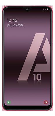 Téléphone Samsung Samsung A10 Rouge offert, SIM triple découpe