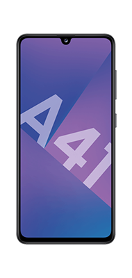 Téléphone Samsung Samsung Galaxy A41 Noir 69EUR + Carte SIM 10EUR