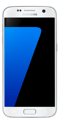 Téléphone Samsung Galaxy S7 blanc