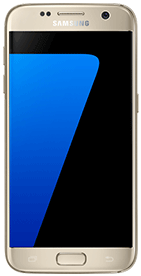 Téléphone Samsung Galaxy S7 or