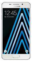 Téléphone Samsung Galaxy A3 Blanc Comme neuf