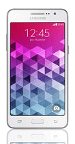 Téléphone Samsung Galaxy Grand Prime VE blanc Comme neuf