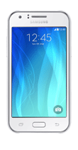 T�l�phone Samsung Galaxy J1 blanc Comme neuf