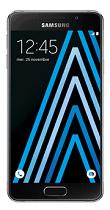 Téléphone Samsung Galaxy A3 Noir Comme neuf