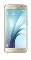 T�l�phone Samsung Galaxy S6 or 32Go Comme neuf