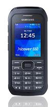Téléphone Samsung Xcover 550 noir Comme neuf