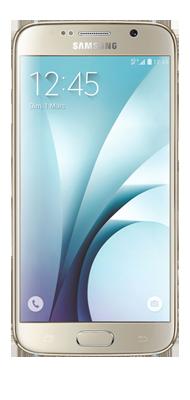 Téléphone Samsung Galaxy S6 Edge or 32Go Comme neuf