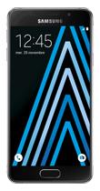 Téléphone Samsung Galaxy A3 2016 Noir Comme neuf