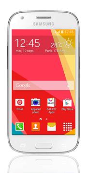 Téléphone Samsung Galaxy ACE 4 blanc Comme neuf