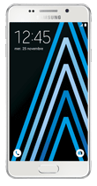 T�l�phone Samsung Galaxy A3 2016 Blanc Comme neuf