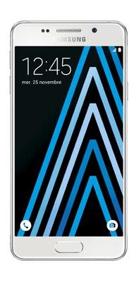 Téléphone Samsung Galaxy A3 2016 Blanc Comme neuf