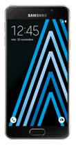 Téléphone Samsung Galaxy A3 2016 Or Comme neuf