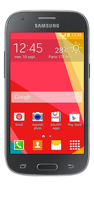 Téléphone Samsung Galaxy ACE 4 gris Comme neuf